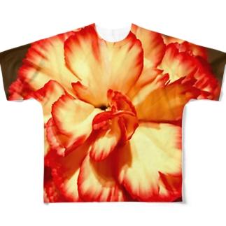 イケてるカーネーション Full graphic T-shirts