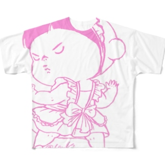 めいどあー Full graphic T-shirts