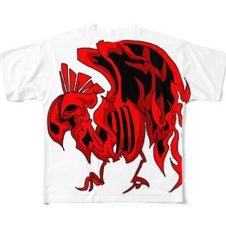 炎烏 Full graphic T-shirts