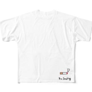禁煙Tシャツ改 Full graphic T-shirts