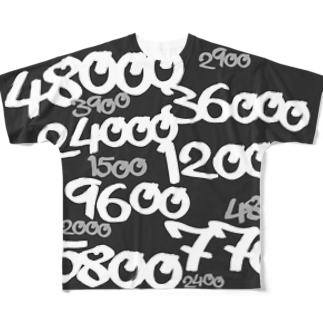 wlmのPOINTS OYABAN mono Full graphic T-shirts
