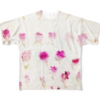 ハナビラ Full graphic T-shirts