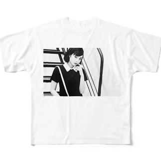 自分用 Full graphic T-shirts