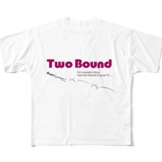 ツーバウンド エイリアン Full graphic T-shirts