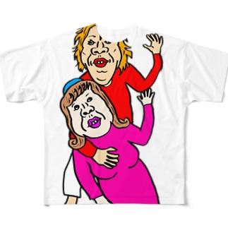 何しとんねん Full graphic T-shirts