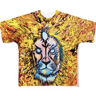 超克 Full graphic T-shirts