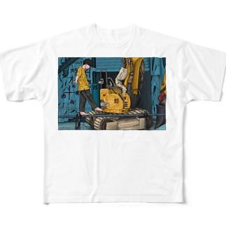 安全第一 Full graphic T-shirts