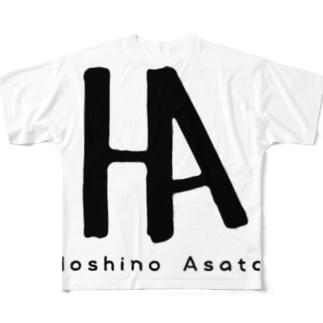 ロゴ達 Full graphic T-shirts