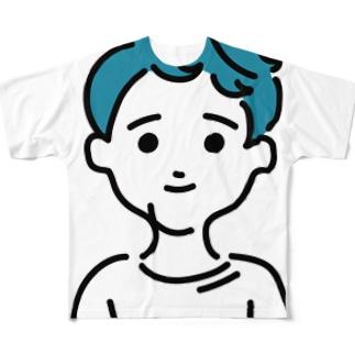 ションション Full graphic T-shirts