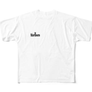 マルボロ Full graphic T-shirts