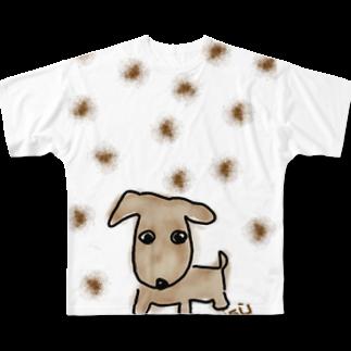 uwotomoの白【Tiramisù】 Full graphic T-shirts