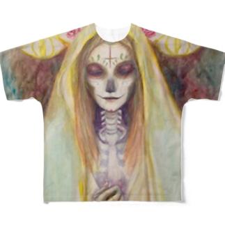 地下之会「サンタムエルテ」 Full graphic T-shirts