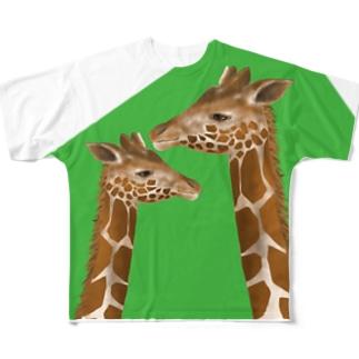 キリン達の憂鬱 Full graphic T-shirts