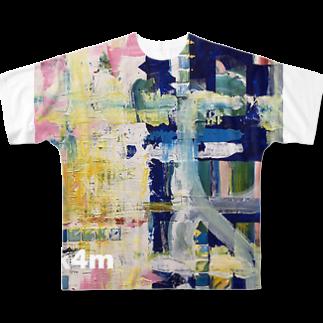tk4mの海の音 Full graphic T-shirts