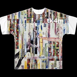 tk4mのミニポップス Full graphic T-shirts