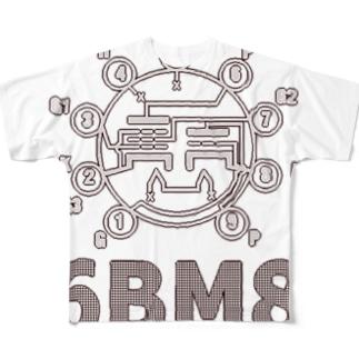 6BM6 Full graphic T-shirts