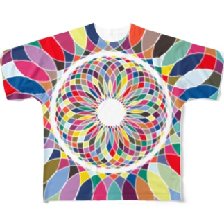酸いも甘いも Full graphic T-shirts