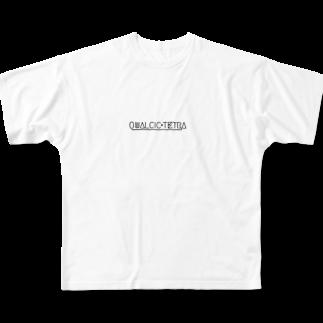 MitsuOのQUALCIC+TETRA Full graphic T-shirts