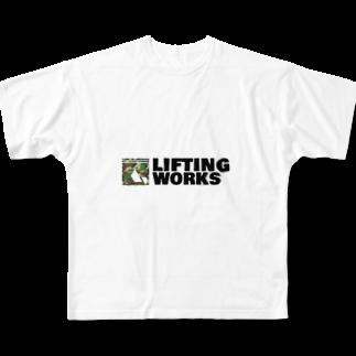 LIFTING WORKSのLIFTING WORKS Full graphic T-shirts