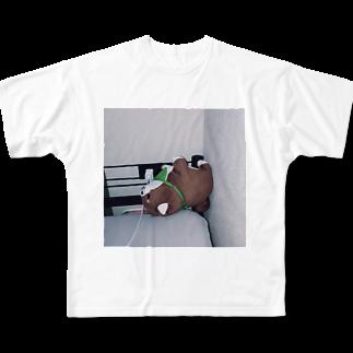 kid_kzkのらいおん Full graphic T-shirts