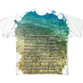 奄美 Full graphic T-shirts