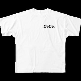 kanato160のDeDe Full graphic T-shirts