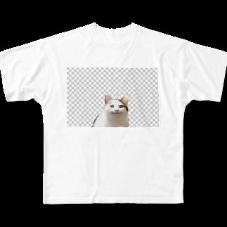 梅のneco Full graphic T-shirts