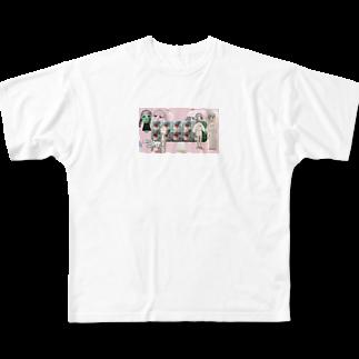 harappadedanceのmedicine Full graphic T-shirts