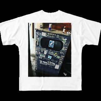 ゴリーメイソンのゴリラストリート Full graphic T-shirts