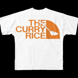 moruTのざ・カレーライス 2019夏モデル Full graphic T-shirts