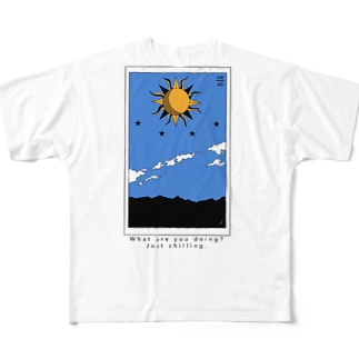 justchilling... Full graphic T-shirts