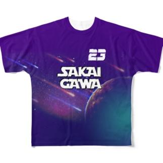 【販売済み】境川フリー/23番 Full graphic T-shirts
