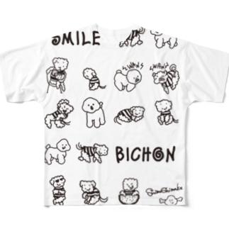 shimashima01 Full graphic T-shirts