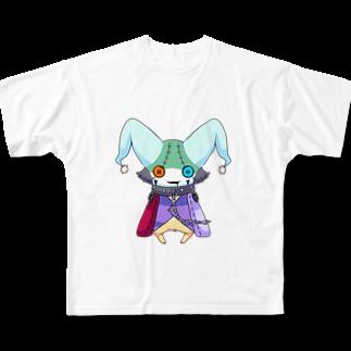 KaginoMAFSharkの謎な子 Full graphic T-shirts