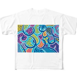 No.7 Full graphic T-shirts