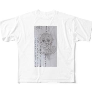 発情チャン Full graphic T-shirts