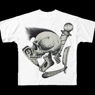 shogo25のバーバー Full graphic T-shirts