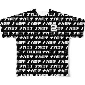 【販売済み】中道トリム(サンプル) Full graphic T-shirts