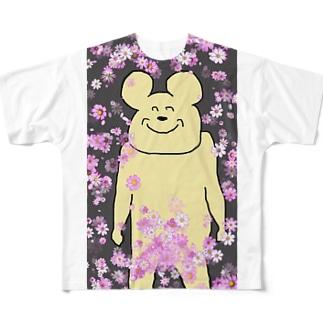 花吹雪によって守られたコンプライアンス Full graphic T-shirts