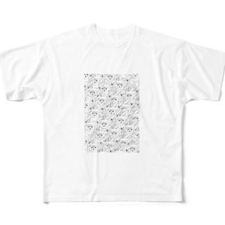 猫2 フルグラフィックTシャツ