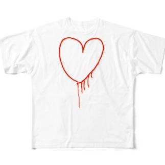 my heart Full graphic T-shirts
