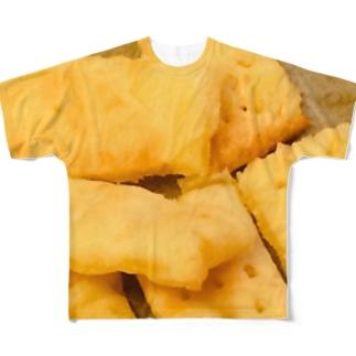 ジャガイモのショートブレッド Full graphic T-shirts