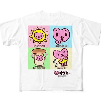 オクマー フルグラフィックTシャツ