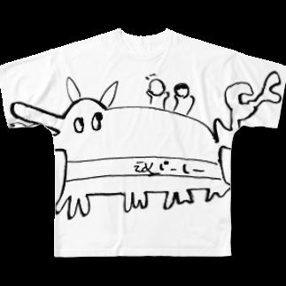 スタジオえどふみ オフィシャルショップの古川未鈴(でんぱ組.inc)作『スフォイクス』(Ver.1.1) フルグラフィックTシャツ