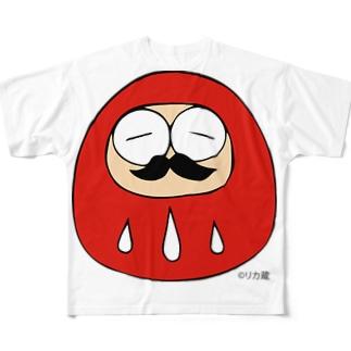 ニシダさん フルグラフィックTシャツ