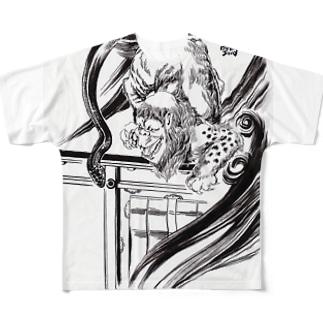 ぬえ フルグラフィックTシャツ