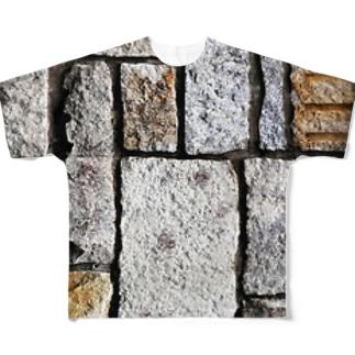 石垣 フルグラフィックTシャツ