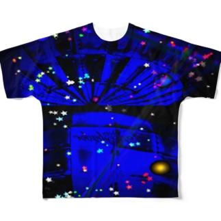 宇宙船 フルグラフィックTシャツ