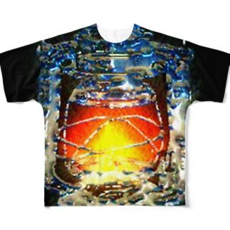 クリスタルランタン フルグラフィックTシャツ