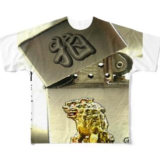 イラスト合成テスト フルグラフィックTシャツ